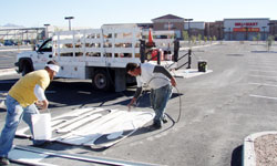 Affordable Las Vegas Striping